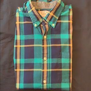 JCrew short-sleeve shirt